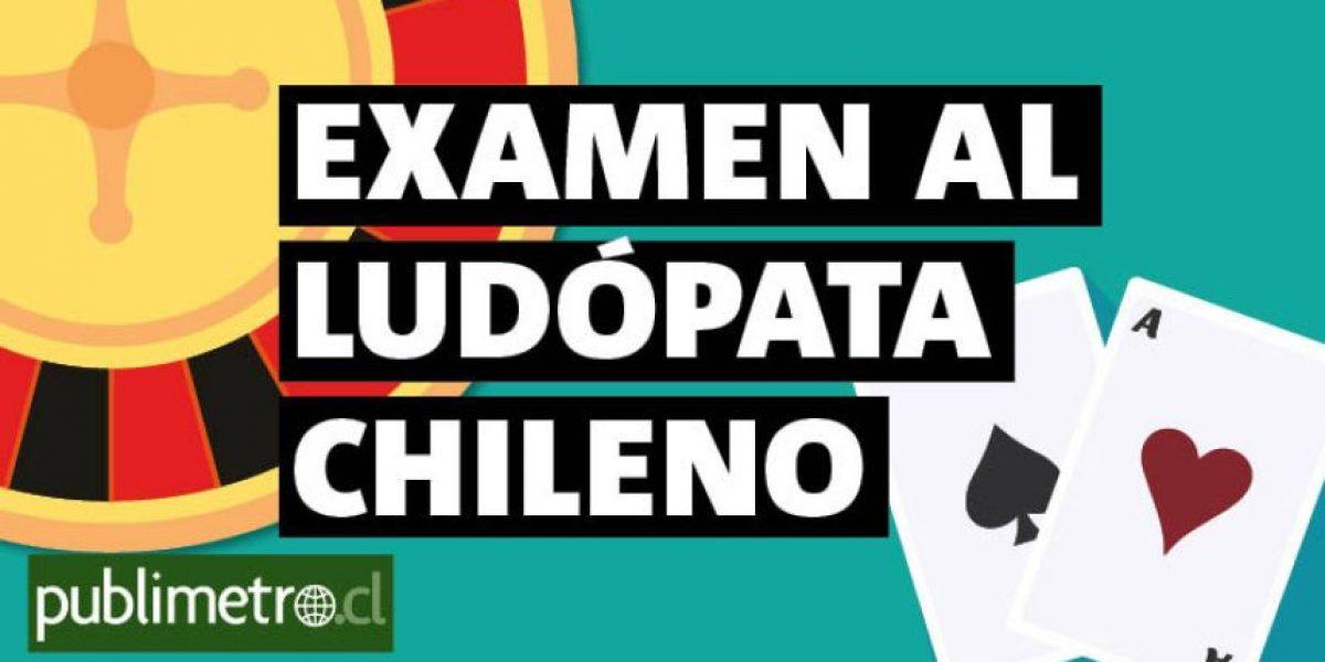 Infografía: examen al ludópata chileno
