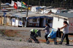A nivel regional, Valparaíso es la que cuenta con el mayor número de campamentos (162), seguida de la Región de Biobío (132) y luego, la Región Metropolitana (81). Foto:Agencia UNO. Imagen Por: