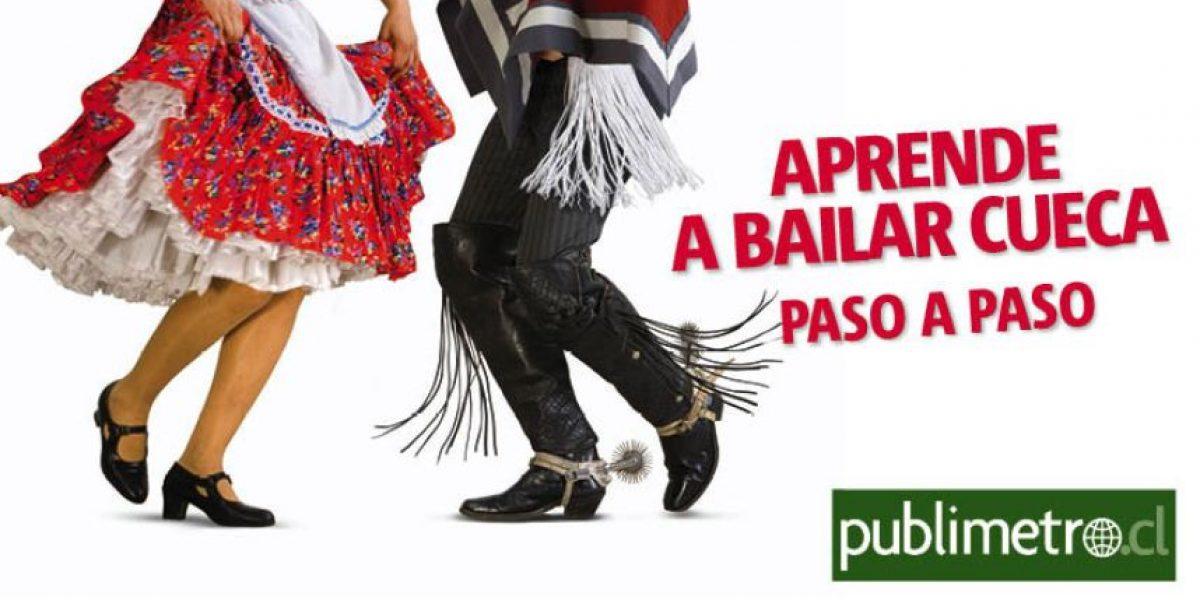 Infografía: aprende a bailar Cueca, paso a paso