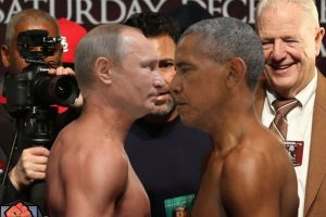 Hubo quienes los imaginaron como boxeadores en el pesaje Foto:Imgur. Imagen Por: