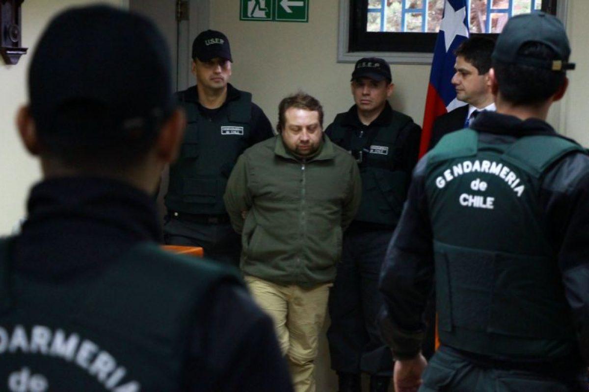 """""""Soy y seré inocente. Amo a mi familia, especialmente a mis hijos. el sueño de un padre. lo único que pido más mi inocencia, y que busquen a él o los verdaderos culpables"""", escribió desde la cárcel Mauricio Ortega. Foto:Aton. Imagen Por:"""
