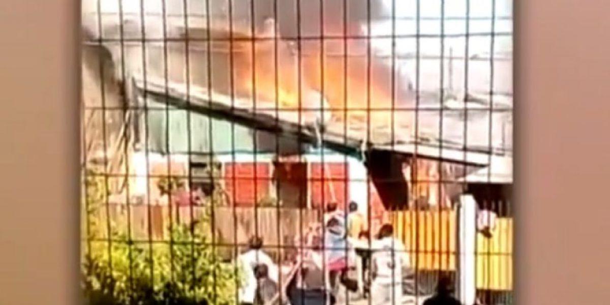 Incendio en Pedro Aguirre Cerda deja una víctima fatal y 15 damnificados