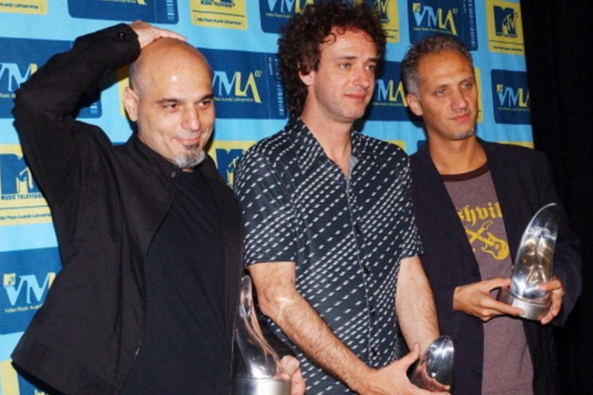 En 2002, antes de su gira de reencuentro. Foto:Getty Images. Imagen Por: