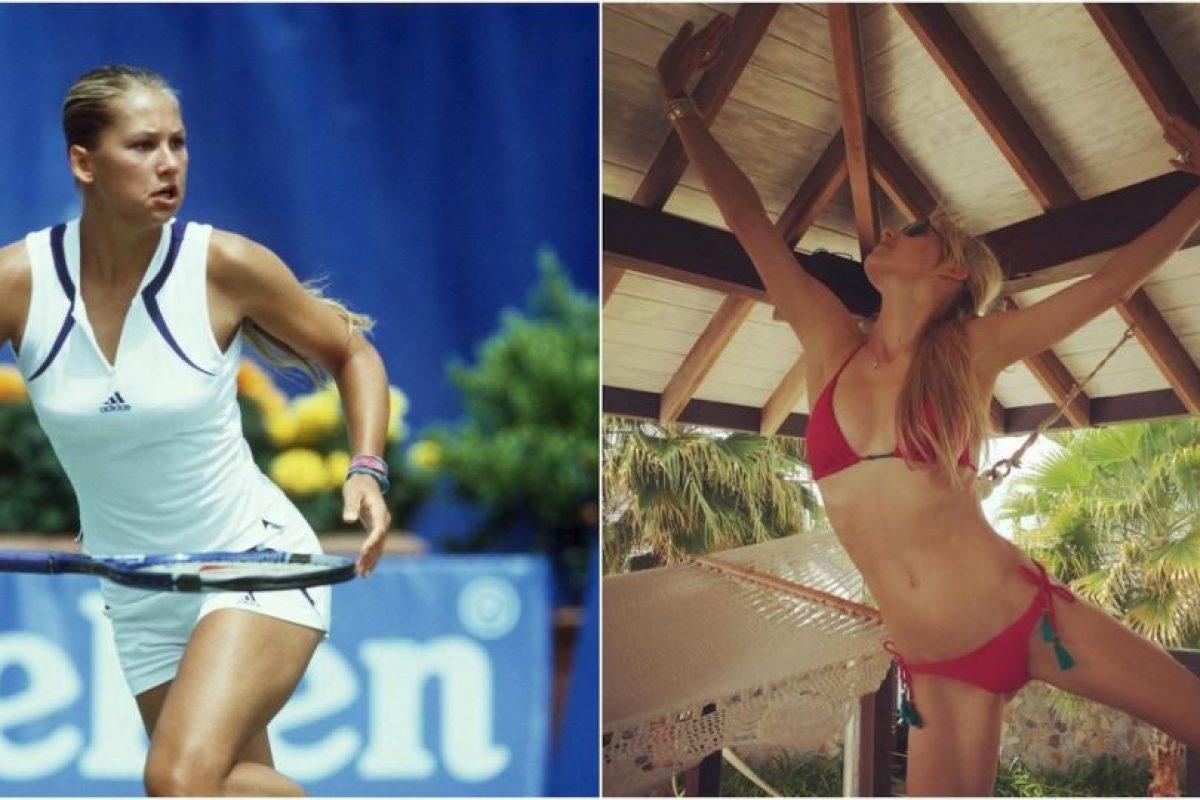 Así ha cambiado el cuerpo de Anna Kournikova con el tiempo Foto:Getty Images / Instagram. Imagen Por: