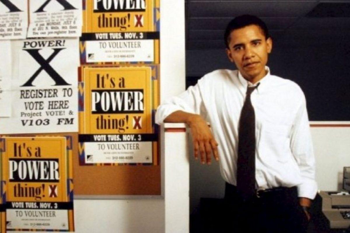 Llegó a ser el editor de la revista Harvard Law Review Foto:Facebook.com/BarackObama. Imagen Por: