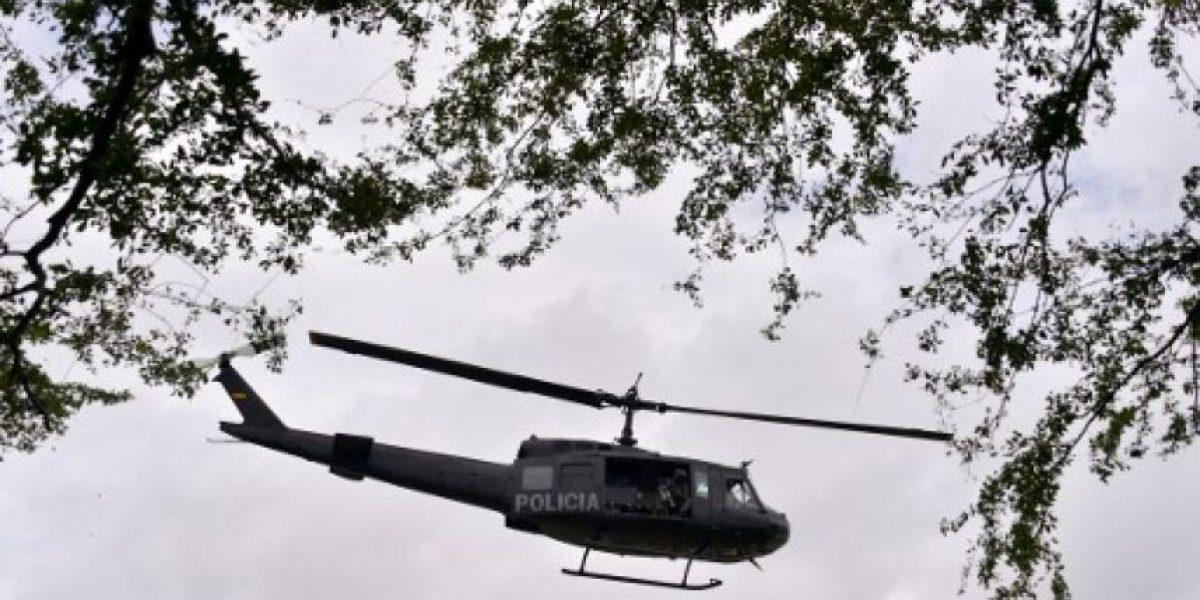 Criminales derriban helicóptero policial en México