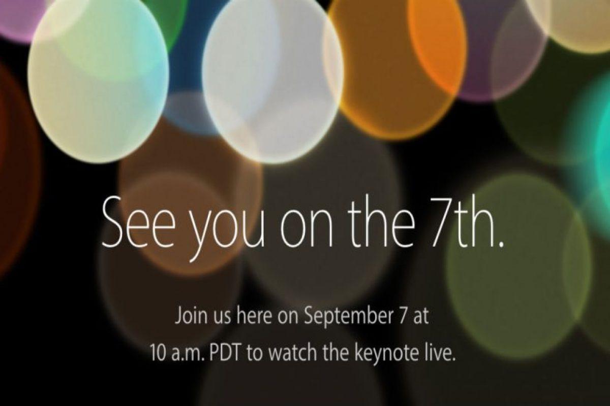 Apple presenta el nuevo iPhone 7. Foto:Apple. Imagen Por:
