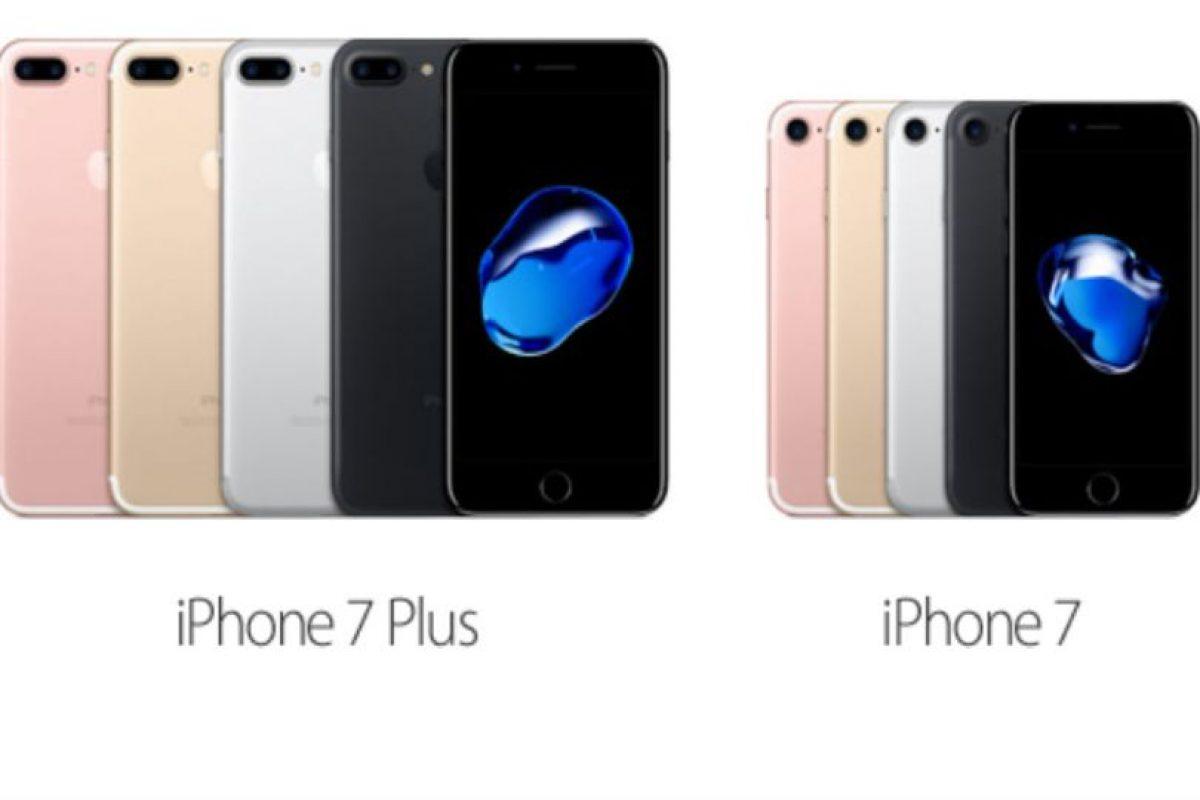 iPhone 7 y 7 Plus Foto:Apple. Imagen Por: