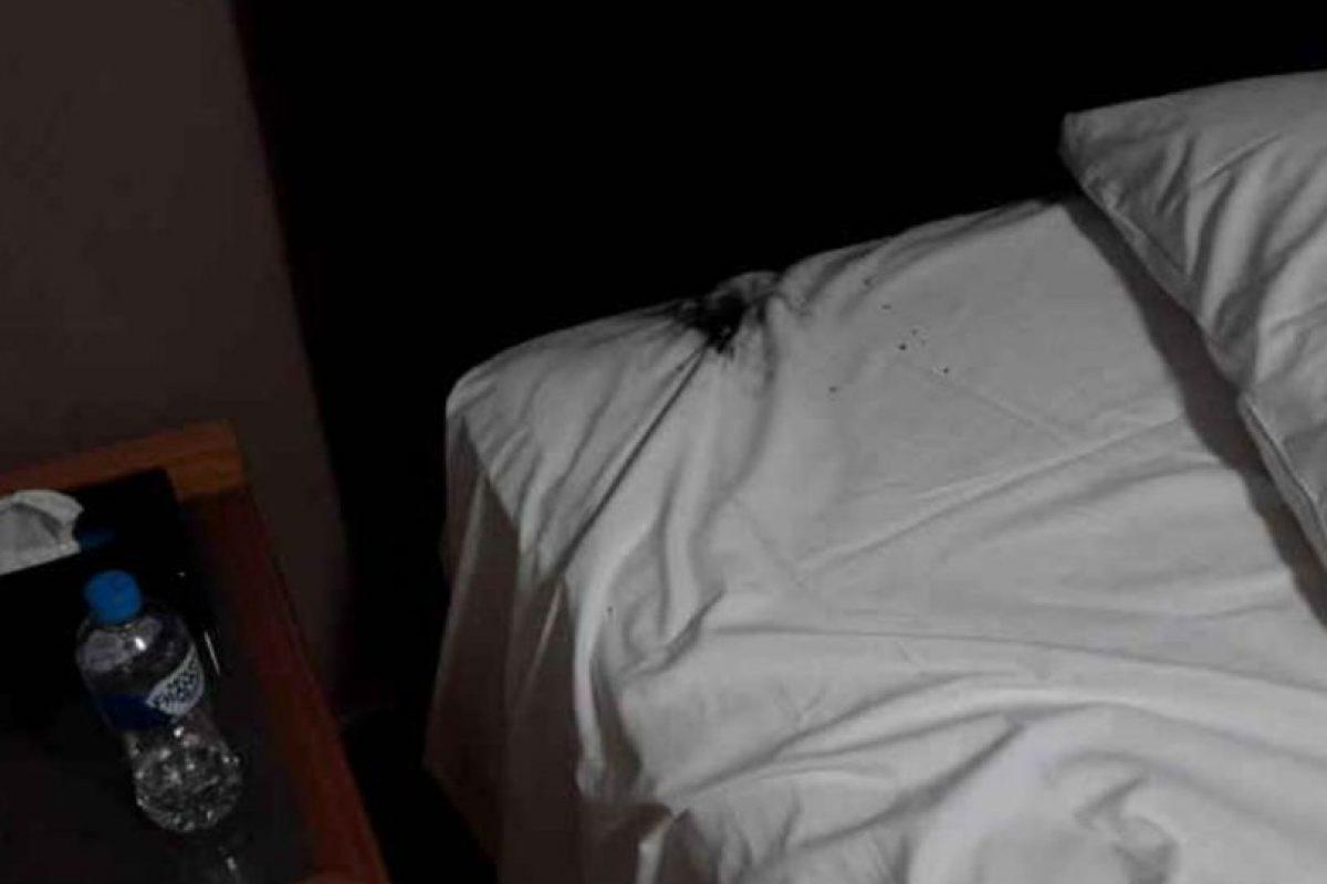 Así quedó la cama. Foto:Imgur/Crushader. Imagen Por: