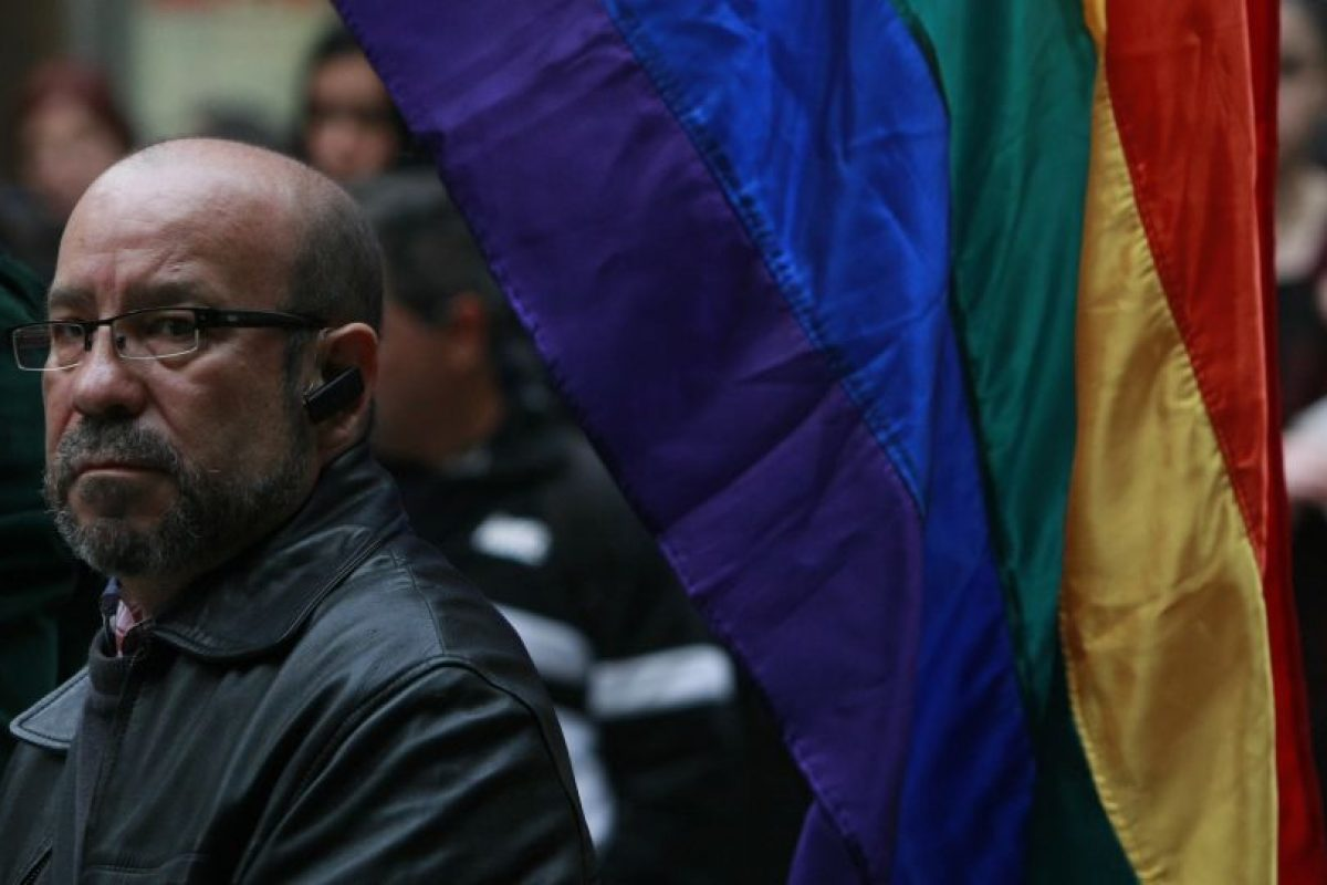 """Tras la votación, el vocero del MOVILH, Rolando Jiménez fue grabado diciendo """"vamos a hacer crema a los fetos"""". Foto:Agencia UNO. Imagen Por:"""