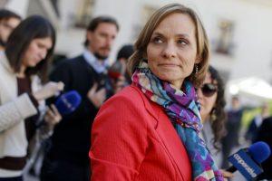 El voto decisivo fue el de la senadora DC Carolina Goic. Foto:Agencia UNO. Imagen Por: