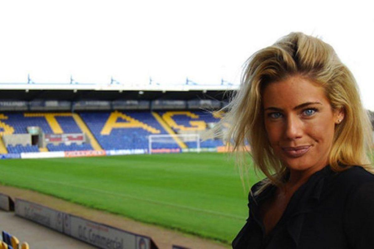 Carolyn Still, directora ejecutiva del Mansfield Town, de la cuarta división inglesa Foto:Instagram. Imagen Por:
