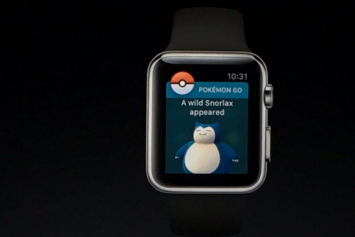 Les anunciará cuando haya nuevos pokémones Foto:Apple. Imagen Por: