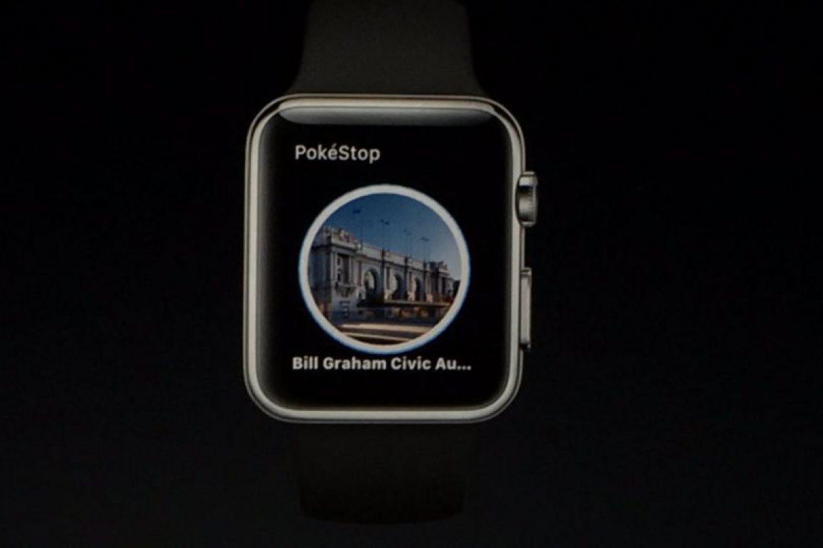 Les mostrará información de las Poképaradas Foto:Apple. Imagen Por: