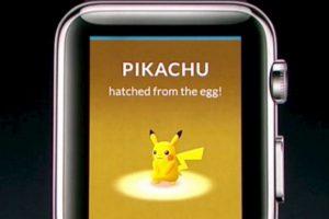 Pokémon Go llegará al Apple Watch Foto:Apple. Imagen Por: