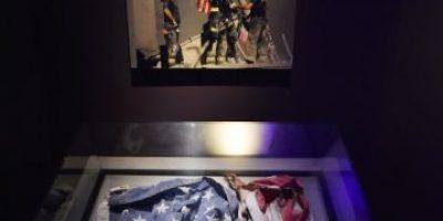 Bandera icónica del 11S será exhibida en Nueva York tras años desaparecida