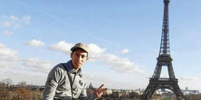 Llega a Chile Kevin Olguín, el joven que se dio una vida de lujo en Europa tras participar en