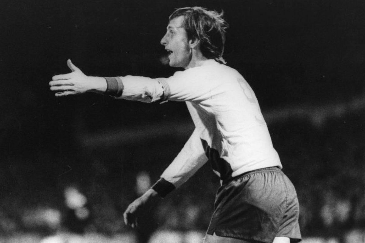 Foto:8. Johan Cruyff. Imagen Por: