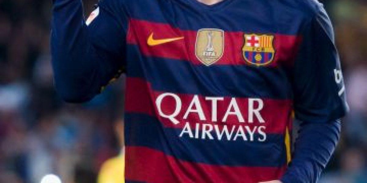Lionel Messi encabeza a los mejores futbolista del Barcelona