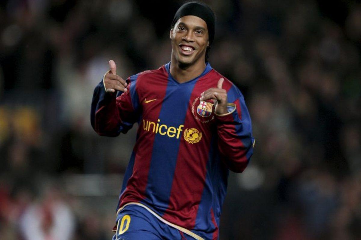 Foto:4. Ronaldinho. Imagen Por: