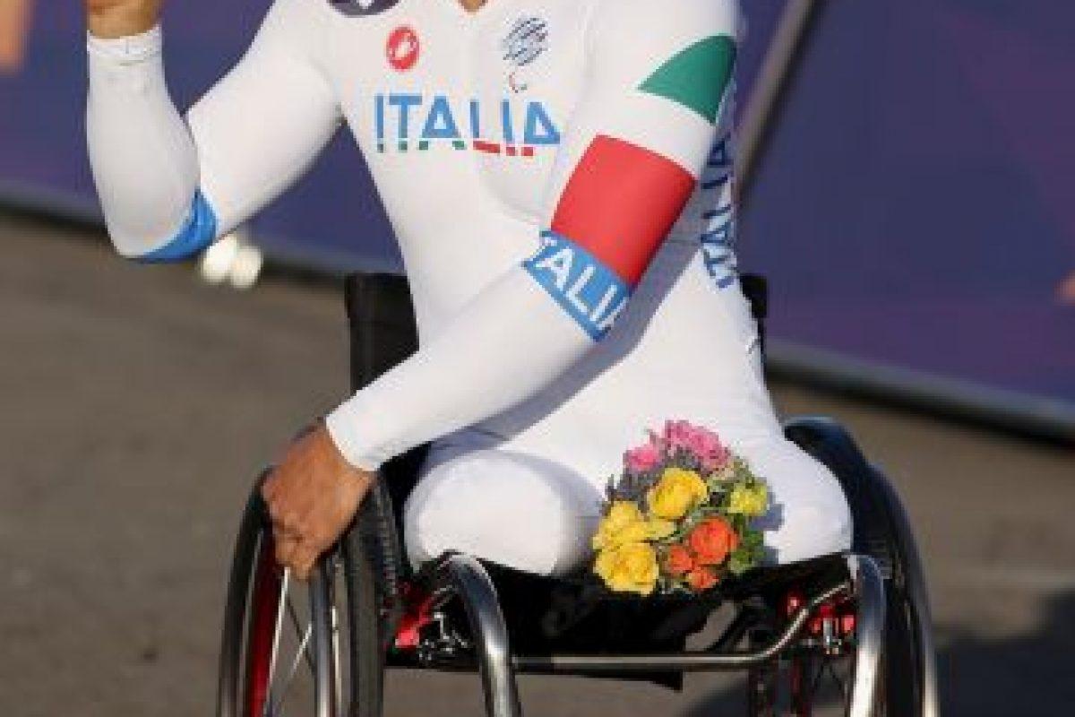 A días de cumplir 50 años, defenderá los títulos de ciclismo en contrarreloj individual H4 y ruta H4 Foto:Getty Images. Imagen Por: