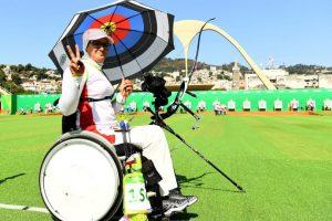 La iraníe participó en tiro con arco en los Juegos Olímpicos de Río y defenderá el título en los Juegos Paralímpicos Foto:Getty Images. Imagen Por: