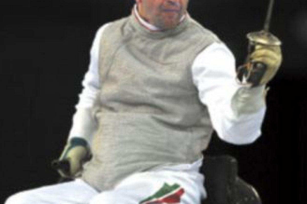 Pal Szekeres. El hungaro es el único atleta que ha ganado medalla en Juegos Olímpicos y Paralímpicos. Foto:Getty Images. Imagen Por: