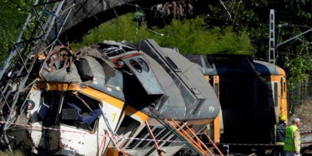 Un chileno herido en un descarrilamiento de tren en España: hubo cuatro muertos