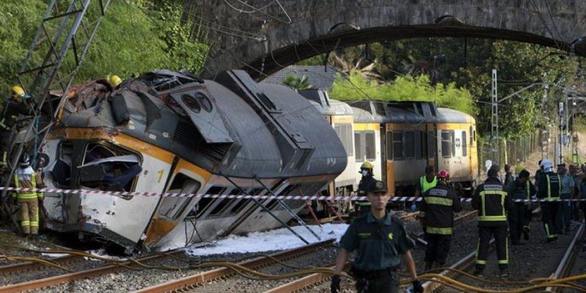 Al menos cuatro muertos al descarrilar un tren portugués en noroeste de España