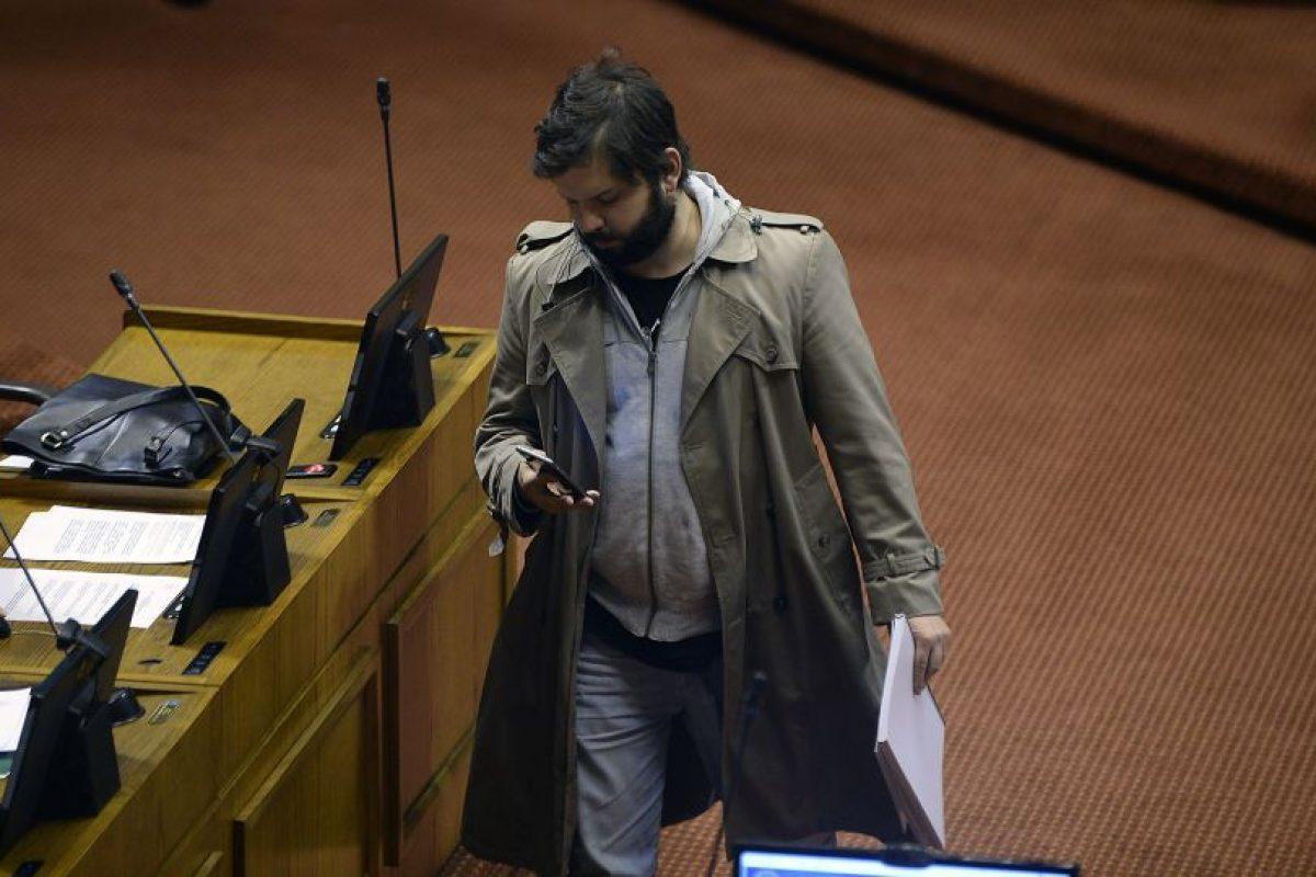 """""""Cabros, los derechos humanos y el dolor de las familias por la muerte de un ser querido no tiene color ni militancia"""", dijo el parlamentario. Foto:Agencia UNO. Imagen Por:"""