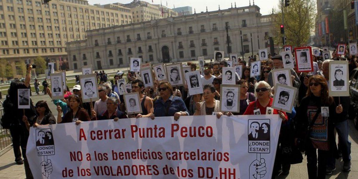 Familiares de detenidos desaparecidos marcharon por cierre de Punta Peuco