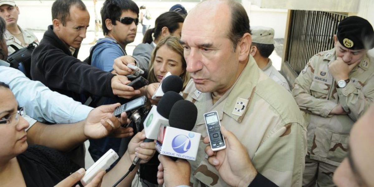Ex comandante Fuente-Alba negó vínculo comercial con proveedor del Ejército