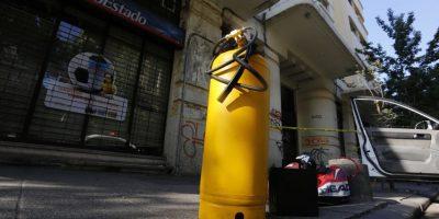 Robo frustrado de cajero automático afectó a sucursal bancaria en Providencia