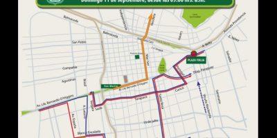 11 de septiembre: estos son los desvíos de tránsito que afectarán a Santiago
