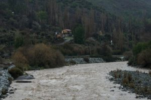 Para el 2070 la cuenca del Maipo se enfrentará una reducción del 40% de su balance hídrico. Foto:Agencia UNO. Imagen Por: