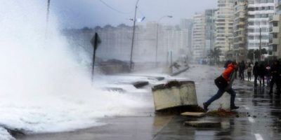 Armada alerta fuertes marejadas en las costas chilenas durante Fiestas Patrias