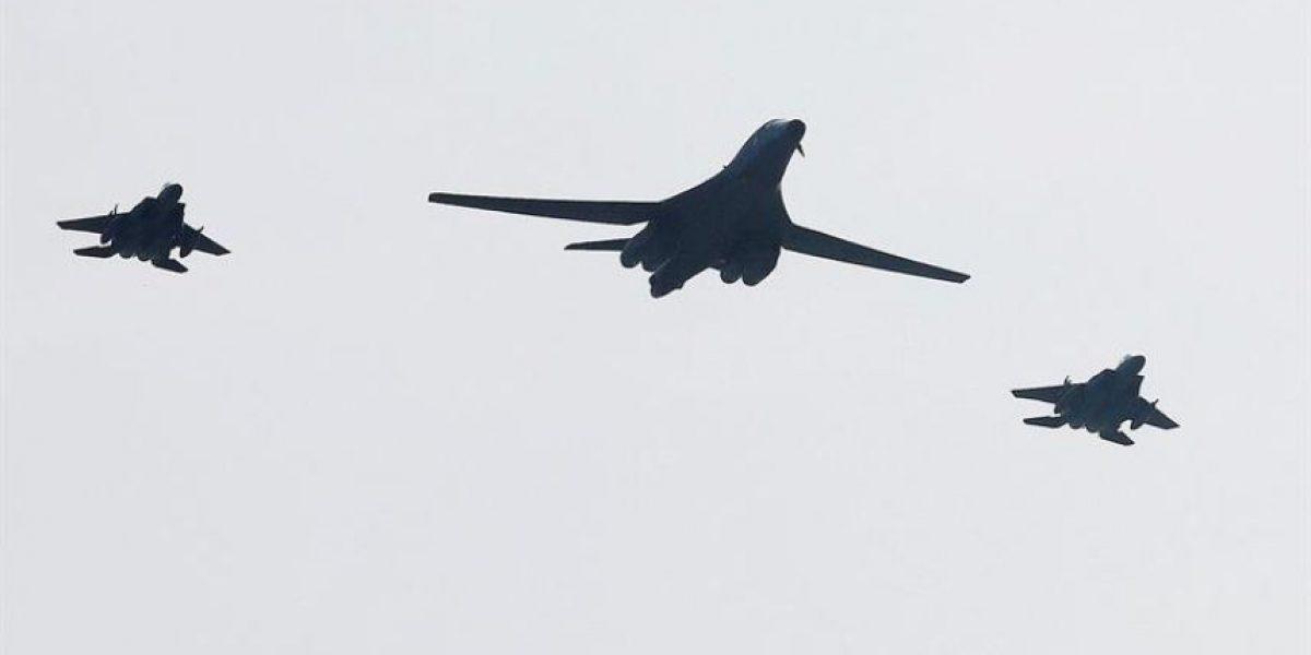 Bombarderos de EEUU vuelan sobre Corea del Sur como advertencia al régimen de Kim Jong-un