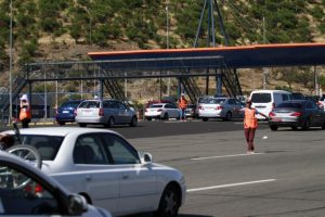 Dentro de las medidas de refuerzo se incluyen puntos complejos como el peaje Lo Prado en la Ruta 68, en la salida por la Ruta 5 Norte y en el peaje Angostura de la Ruta 5 Sur. Foto:Agencia UNO. Imagen Por: