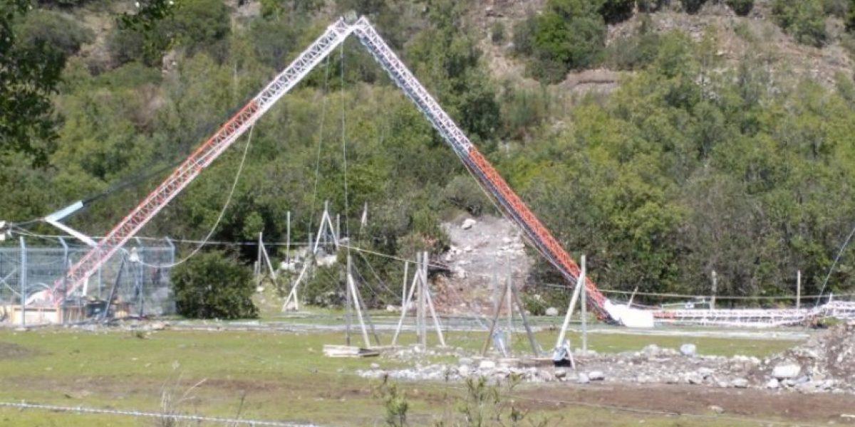 Un trabajador muerto y un herido grave deja caída de antena en Antuco