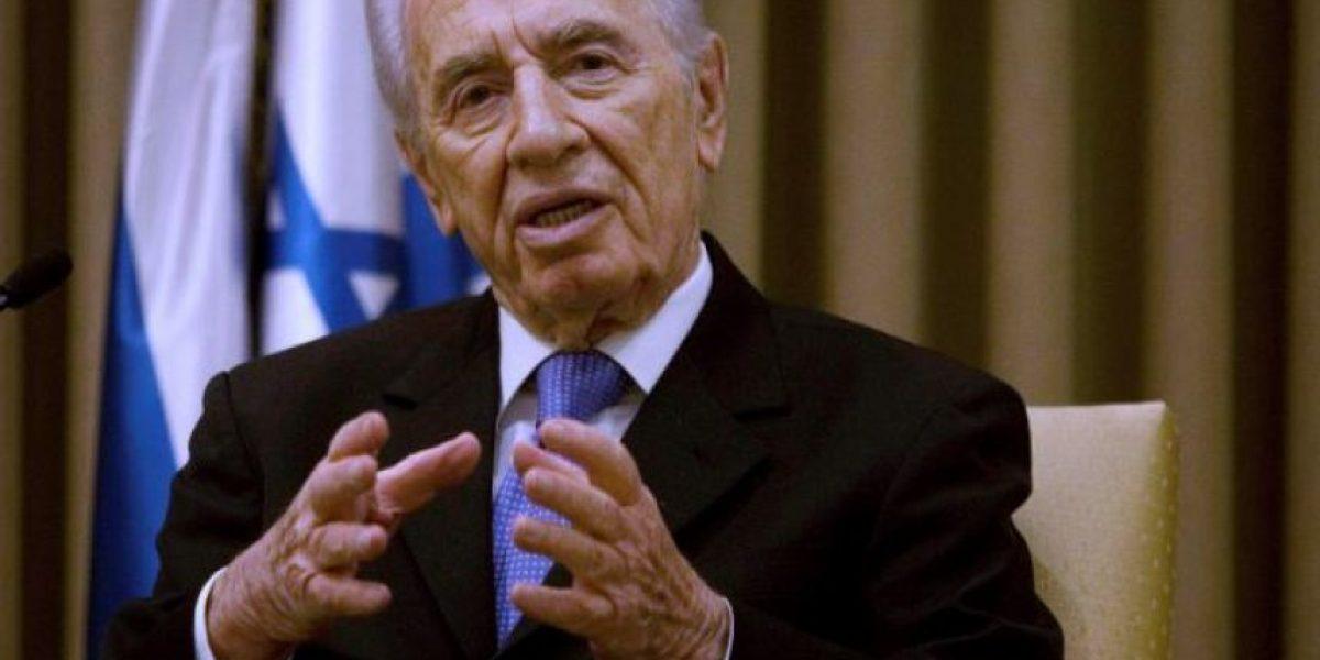 Ex presidente israelí Shimon Peres bajo anestesia tras derrame cerebral