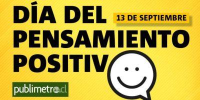 Infografía: día del pensamiento positivo