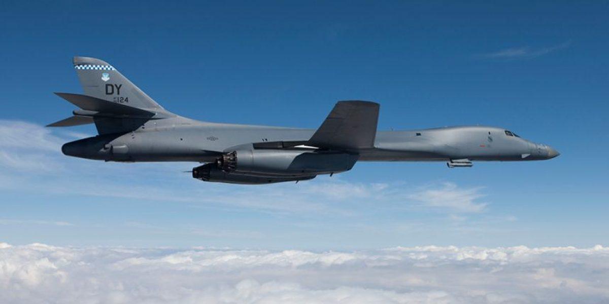 El bombardero supersónico con que Estados Unidos desafío a Kim Jong-un