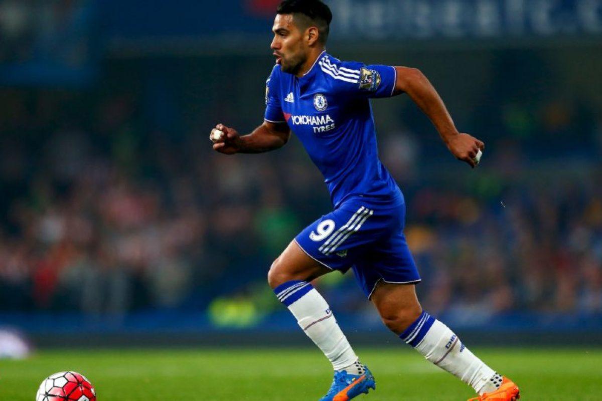 Getty Images Foto:Radamel Falcao (Chelsea). Imagen Por: