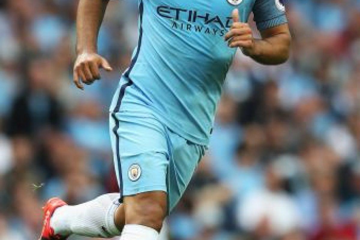 Getty Images Foto:Sergio Agüero (Manchester City). Imagen Por: