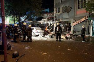 No se informó de lesionados ni víctimas fatales. Foto:Reproducción Twitter @cbsantiago. Imagen Por: