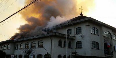 Incendio consume dependencias de la municipalidad de Cañete