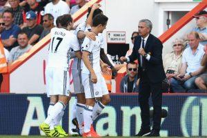 Getty Images Foto:Pese a la derrota ante el Manchester City, Mourinho no les quitó el día libre. La acción se mantendrá ganen o pierdan. Imagen Por: