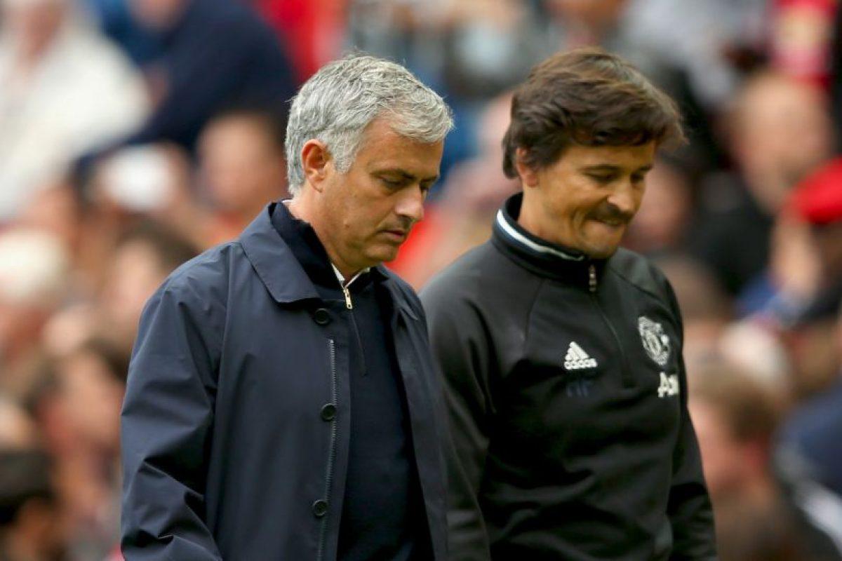 Getty Images Foto:Mourinho está gozando de un buen momento en la Premier League y ya suma tres victorias en cuatro partidos. Imagen Por: