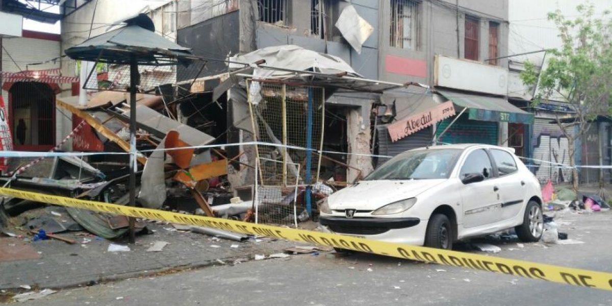 Explosión arrasó con un local de comida rápida del barrio Patronato
