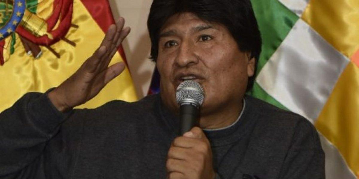Evo Morales insta al diálogo para que Chile no